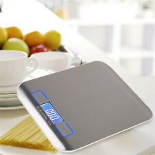 5Kg/1g Slim LCD Display Electronic Digital Kitchen Scale Weight Food Diet Postal