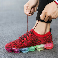 Mens Flyknit Flywire Sneakers Air Casual Sports Shoes Running Breathable Fashion