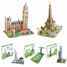 NEW 3D Puzzle Building Model Jigsaws Collection Kids DIY Toy Brain Teaser Gifts