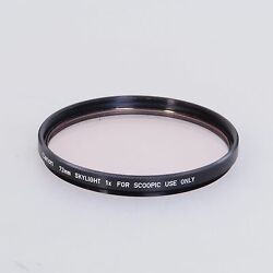 canon 72mm skylight 1x scoopic filter case