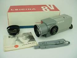 leica leicina 8v movie camera 8 48mm f 1 8