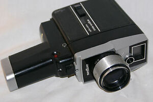 argus cosina super 8 reflex movie camera