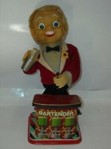 vintage battery operated tin litho