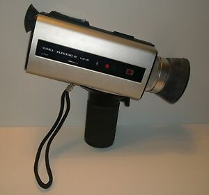 yashica electro 8 ld 6 super 8 hand held