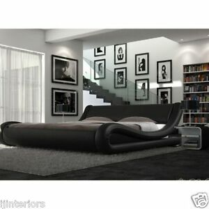 Enzo Italian Modern Designer Bed + Mattress Options