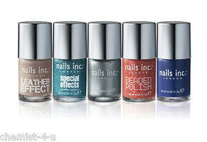 Selected Pack of Five Nails Inc. Nail Polishes