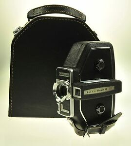 bell howell 16mm howell 240 movie camera