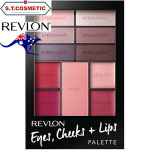 Revlon Eyes Cheeks and Lips Palette Berry In Love
