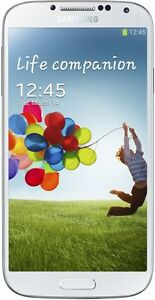 Sim Free Unlocked Samsung Galaxy S4 Mobile Phone - White Frost.