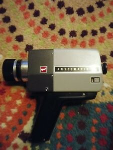 gaf ansomatic st 88 mm camera untested as