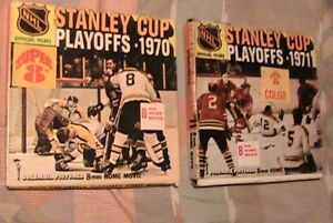 lot of 2 super 8mm movies stanley cup