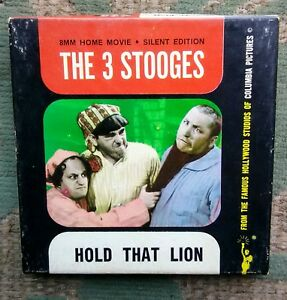 the 3 stooges hold that lion columbia
