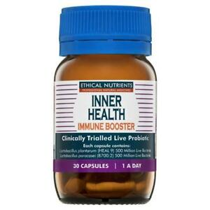 Ethical Nutrients Inner Health Adults Immune Booster 30 Capsules
