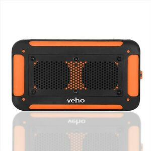 Veho Vecto Water-Resistant Speaker with Power Bank
