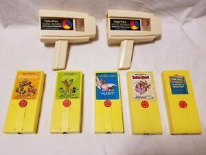lot of fisher price 1973 movie viewers