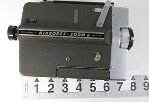 nikon nikkorex zoom 8 super 8mm film movie