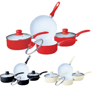 7 Piece Ceramic Cookware Set