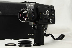 mint nikon r8 super 8mm film movie camera
