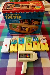 fisher price movie viewer theater box