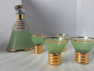 french art deco glass decanter 4