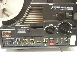 chinon 9500 twin track magnetic optical
