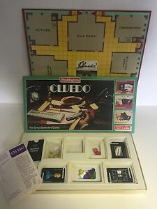 cluedo board game waddingtons free