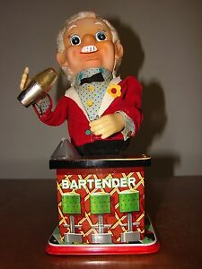 rosko tin toy bartender classic