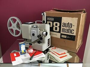 eumig p8 automatic 8mm projector in