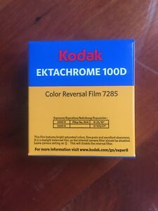 super 8 ektachrome 100d color reversal