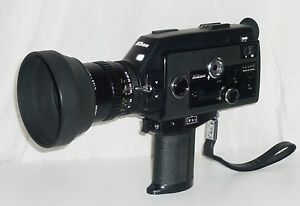 nikon r10 super 8 camera boxed close up