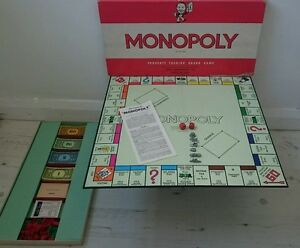 monopoly board game 1961