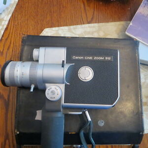 canon cine zoom 512 8mm movie camera
