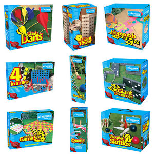 Kingfisher Wooden Outdoor Games From £5.49