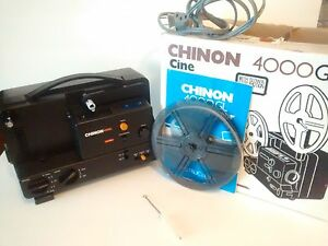 chinon 4000gl dual 8mm super 8 movie film