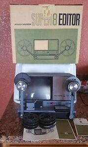 atlas warner super 8mm movie film editor