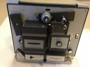 bell howell 8mm super 8 movie projector