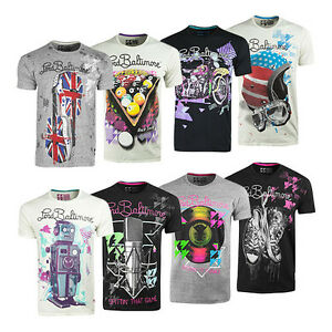 Lord Baltimore Christian Audigier Graphic T-Shirts