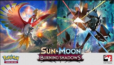 Pokemon TCG Burning Shadows All Non Holo Cards. Buy 1 Get 1 50% Off *YOU CHOOSE*
