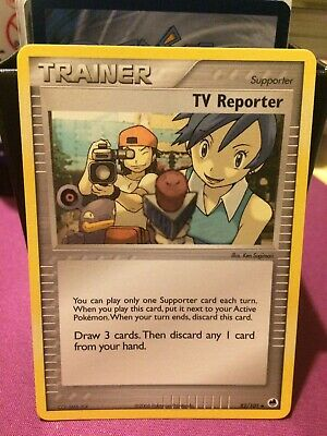 Pokemon Card | TV Reporter Supporter  Dragon Frontiers #82 Mint ✔🔎