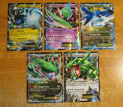 NM Pokemon THUNDURUS+GALLADE+LATIOS+RAYQUAZA EX Card XY ROARING SKIES 60-75/108