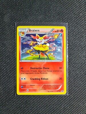 Pokemon Card Braixen Holo XY161 Black Star Promo Near Mint