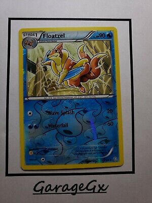 POKEMON BLACK AND WHITE DRAGONS EXALTED - FLOATZEL 33/124 REV HOLO Nm