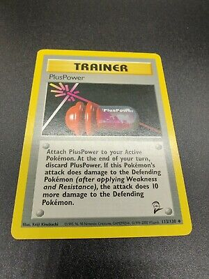 PlusPower | EX | Base Set 2 II 113/130 | Uncommon | Pokemon