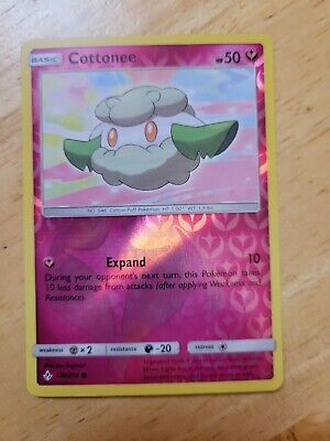 Pokemon - Cottonee - 139/214 - REVERSE HOLO - Unbroken Bonds set