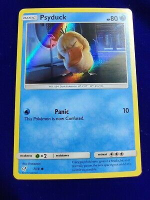 Psyduck | Holo | MINT | Detective Pikachu 7/18 | Common | Pokemon