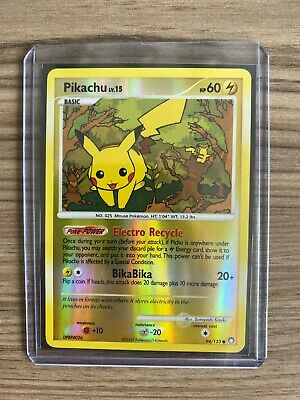 Pikachu - 94/123 - Mysterious Treasures Pokemon Card