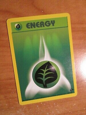 PL (Unlimited) Pokemon GRASS ENERGY Card GYM CHALLENGE Set 129/132 Common PLAYED