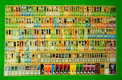 Pokemon Card - BASE SET (1,2), FOSSIL, JUNGLE, ROCKET, NEO,DISCOVERY,GYM HEROES