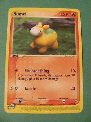 Numel 69/97 Dragon Pokemon Trading Card - Never Played