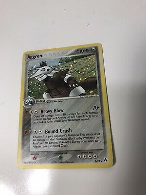 Aggron 2/92 Reverse HOLO Rare EX Legend Maker Pokemon Card